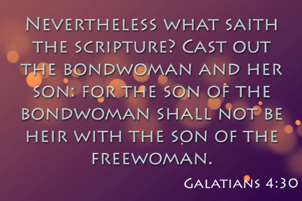 Nevertheless What Saith The Scripture