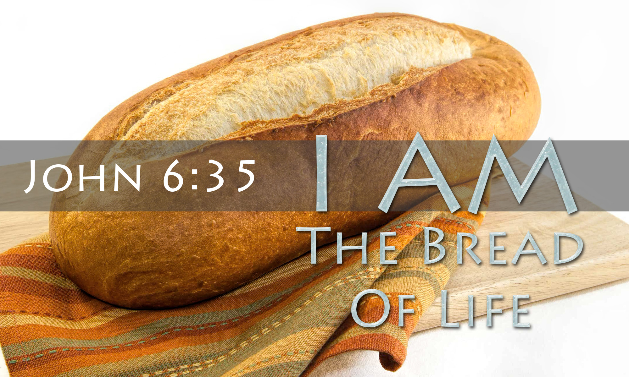 the bread of life an essay Food and its influence an essay assignment food is a necessity for life does the act of breaking bread with someone with whom you're angry ease the tension.