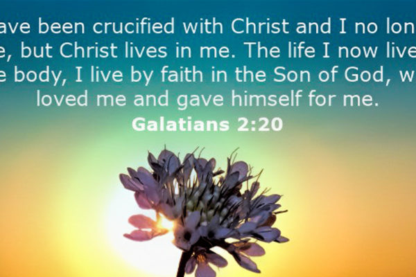 I am crucified with Christ