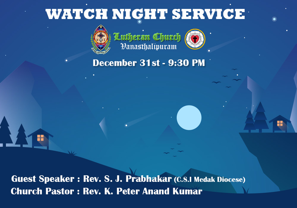 WATCH NIGHT SERVICE 2017