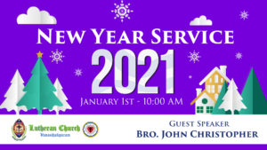 New Year Service 2021